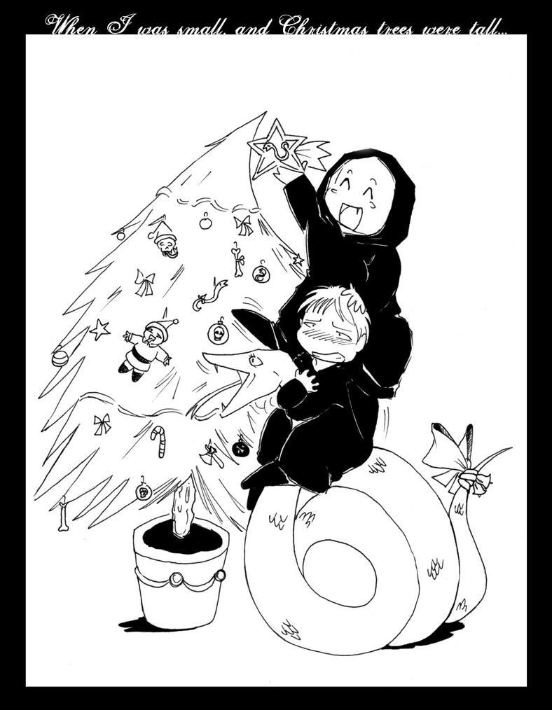 HP-Christmas Tree XD by Nachan