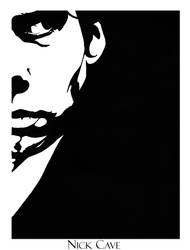Nick Cave by Nachan