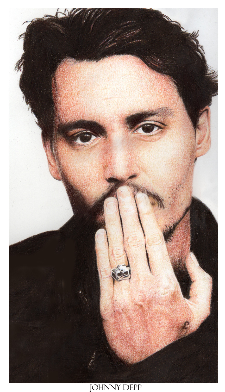 Johnny Depp by Nachan