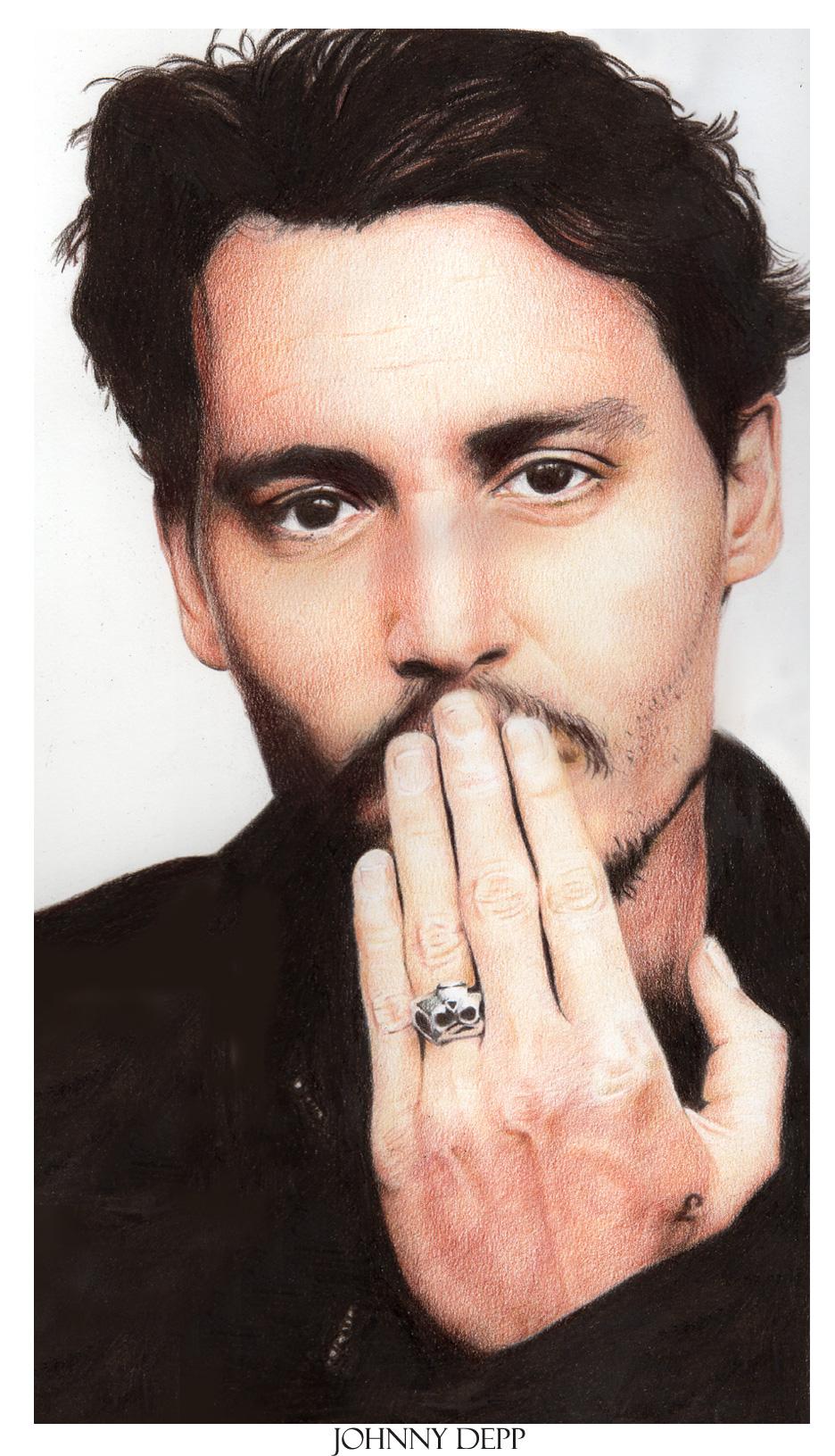 Johnny Depp by =Nachan on