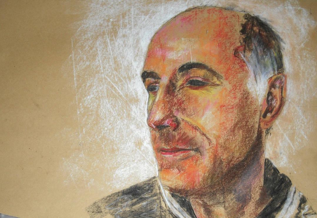 Pastel Portrait VI
