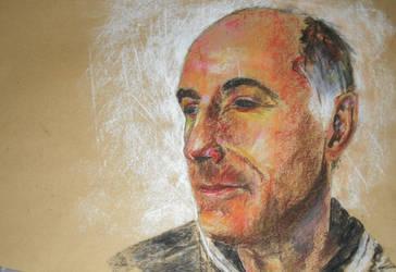 Pastel Portrait VI by Gemneroth