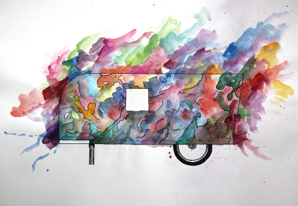 Dream Pedal Camper by Gemneroth