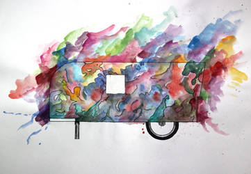 Dream Pedal Camper by Gemneroth