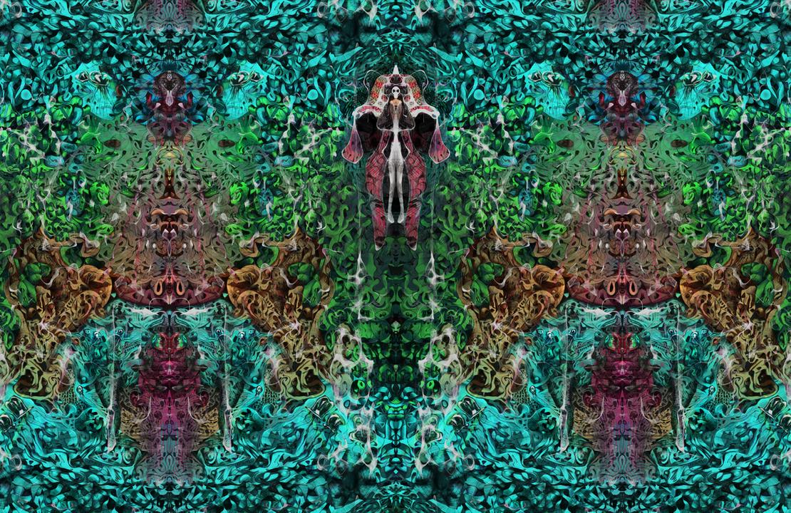 Gaia - Krita Doodle by Gemneroth