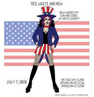 42. Red, White and New by comicalclare