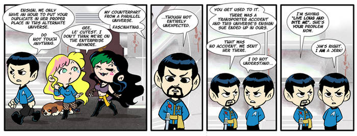 Ensign Sue Must Die 17 by comicalclare