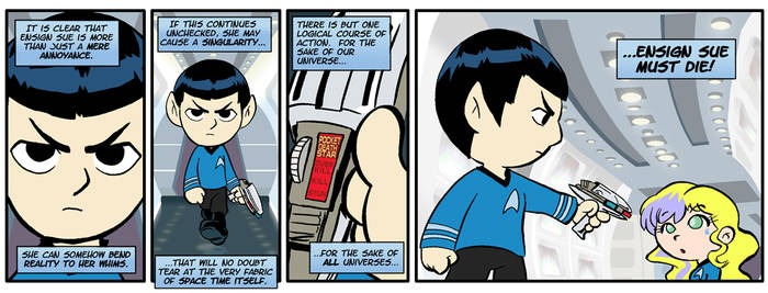 Ensign Sue Must Die 20 by comicalclare