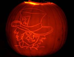 The Mad Hatter Pumpkin