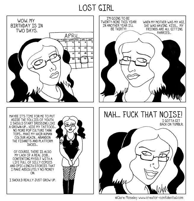 86. Lost Girl by comicalclare
