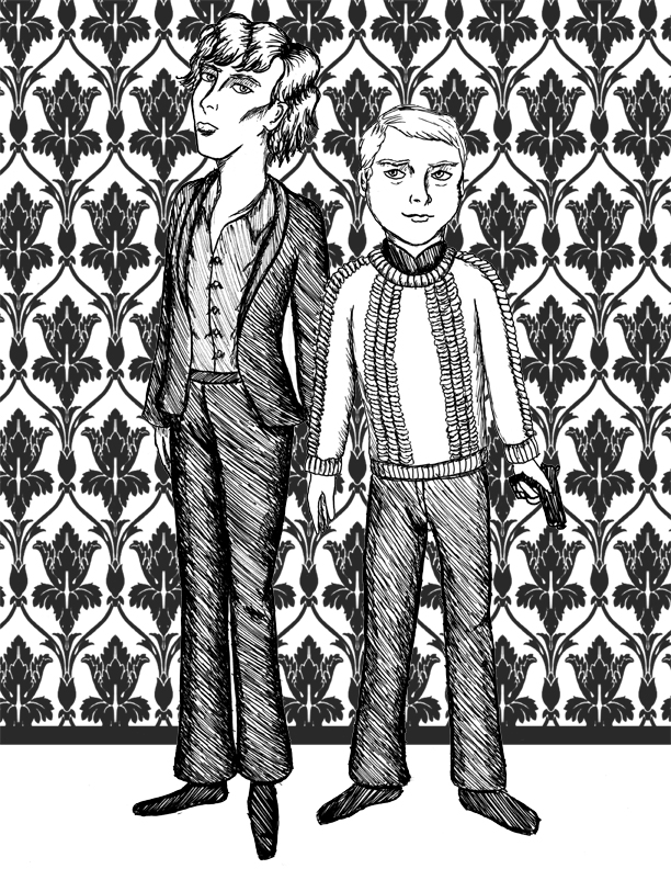 Sherlock: A Study in Ink by comicalclare