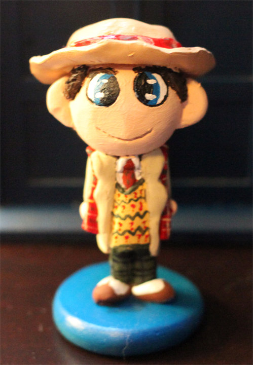 Chibi Seventh Doctor Figure by comicalclare