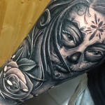 Day of the dead girl tattoo by craig holmes