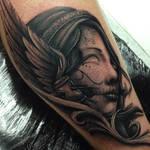 Gypsy day of the dead wing tattoo Craig holmes
