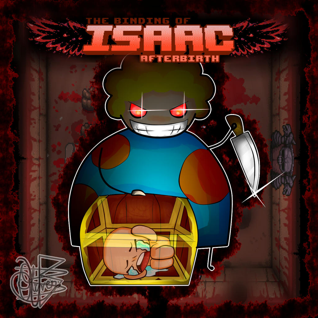 FanArt: The Binding Of Isaac By OliverArt1 On DeviantArt