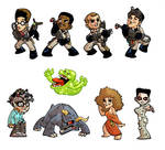 Ghostbusters Magnets