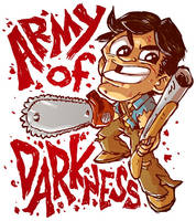 Army of Darkness Sketch by DerekHunter