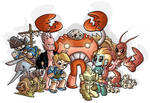 Lobster Ladd Heroes n Villains