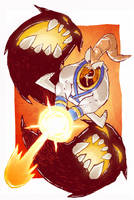 Earthworm Jim Sketch by DerekHunter