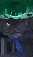 Finn the Human Background Colors by DerekHunter