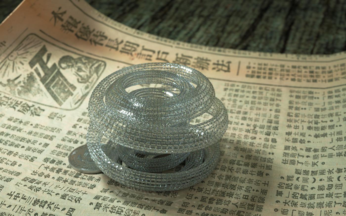 Spiral Sculpture by LuxXeon