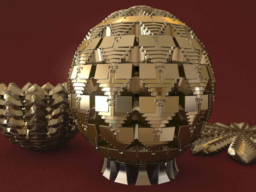 Parametric Metal Egg - Generative Modeling Process by LuxXeon