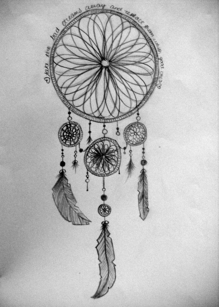 dream catcher  Dream Catcher Drawing Ideas