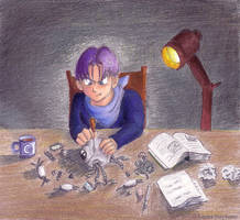Trunks Works on Giru -COMPLETE by lauraneato