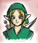 Link Headbust, for Goheh