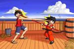 Monkey D. Luffy vs. Monkey Boy