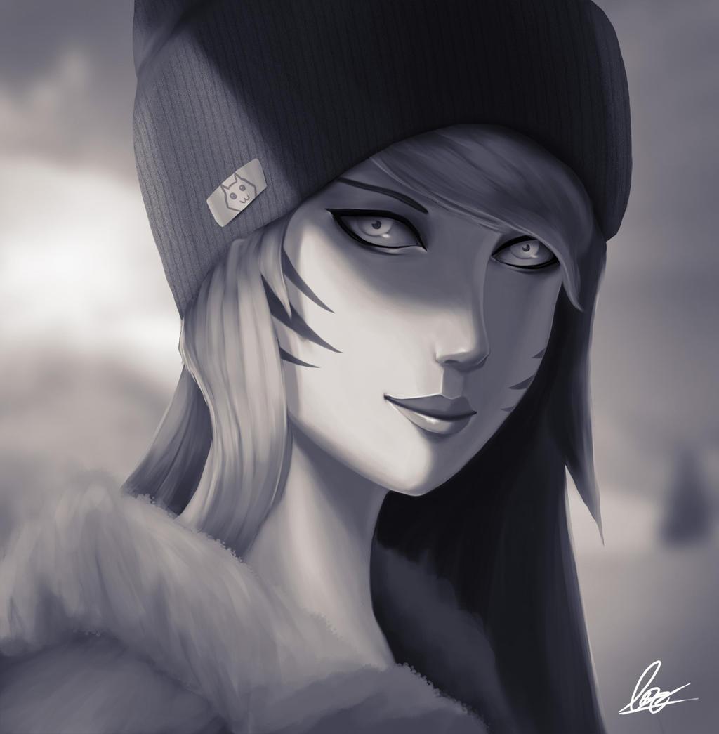 Xmas Ahri by VenomLayzer