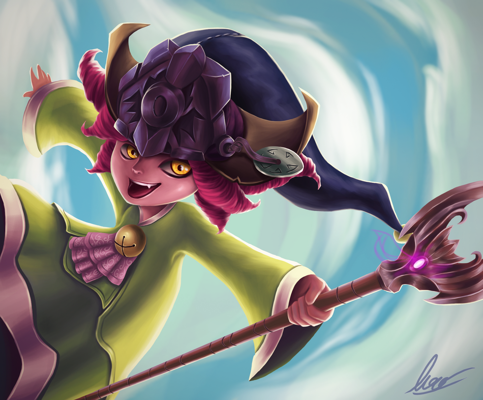 Dragon Trainer Lulu by VenomLayzer