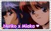 Nuriko + Miaka Stamp by Priss-BloodEmpress