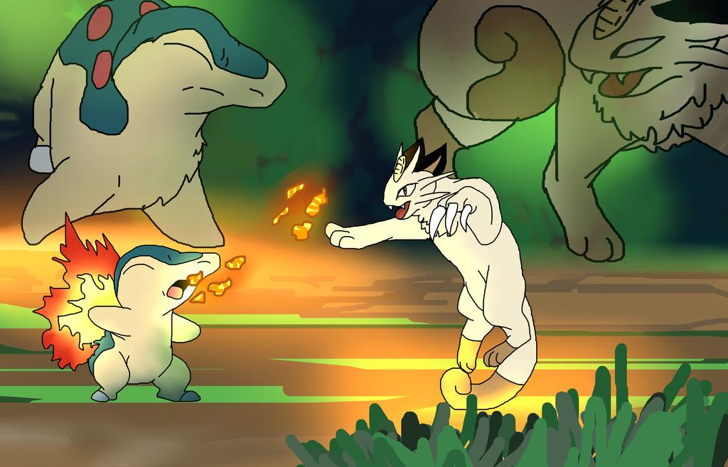 A tense encounter by DEAFHPN