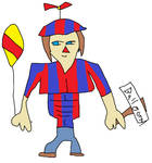 Balloon Boy by BlushingMidnightRose