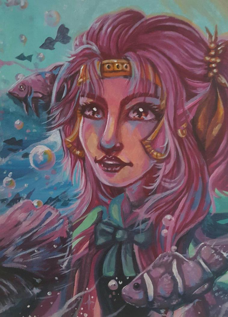 Tercy Painting by spectrumse7en