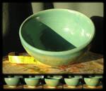 Turquoise Rice Bowl