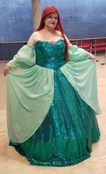 Ariel Green Gown - Redesign (Disney)