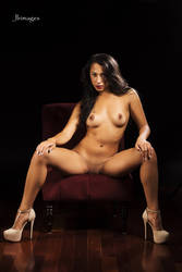 Lexi Burgundy Couch 5 by jlrimages
