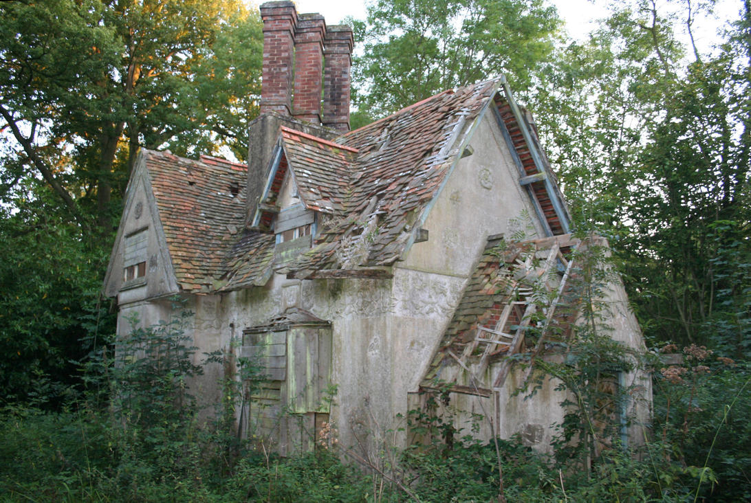 Stock - House in the Woods by GothicBohemianStock