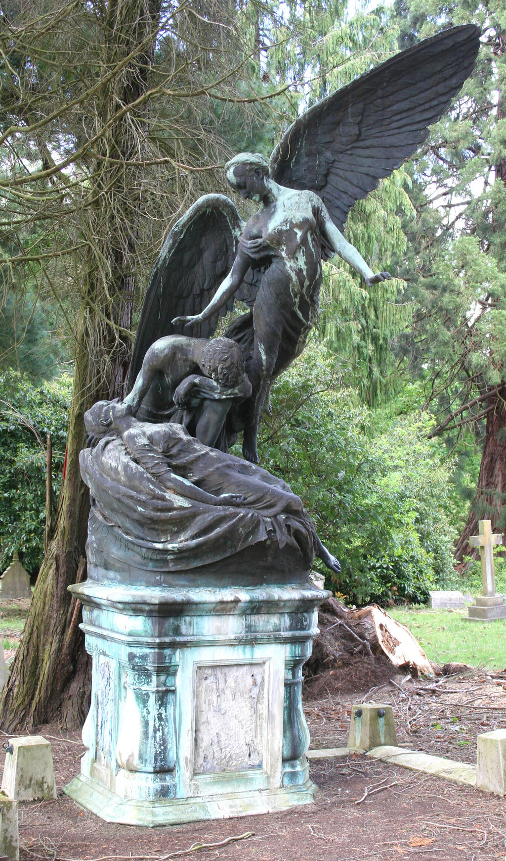 Stock - Brookwood Cemetery 27 by OghamMoon