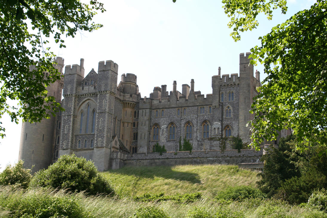 Stock - Arundel Castle 2 by OghamMoon