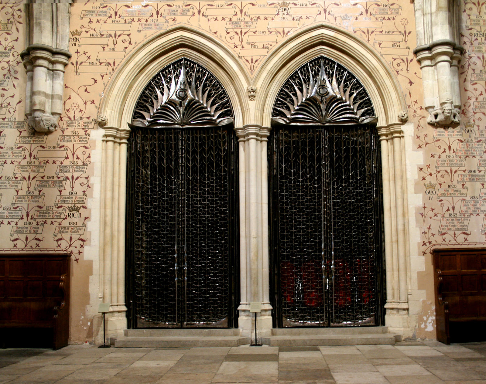 Filename: Winchester_Great_Hall_Doors_by_GothicBohemianStock.jpg & Gothic Doors Images - Reverse Search Pezcame.Com