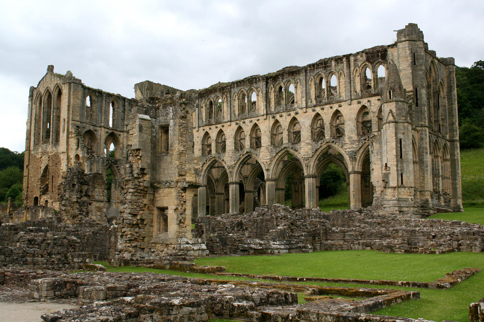 Rievaulx Abbey 1 - Stock by GothicBohemianStock
