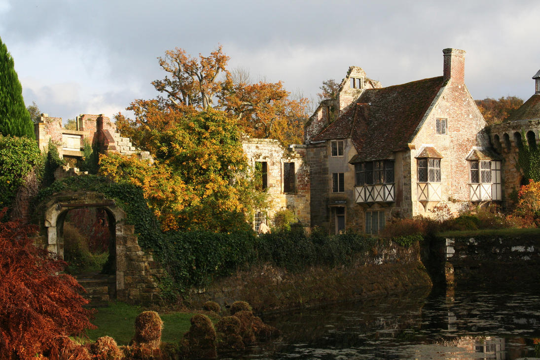 Scotney Castle 14 - Stock by GothicBohemianStock
