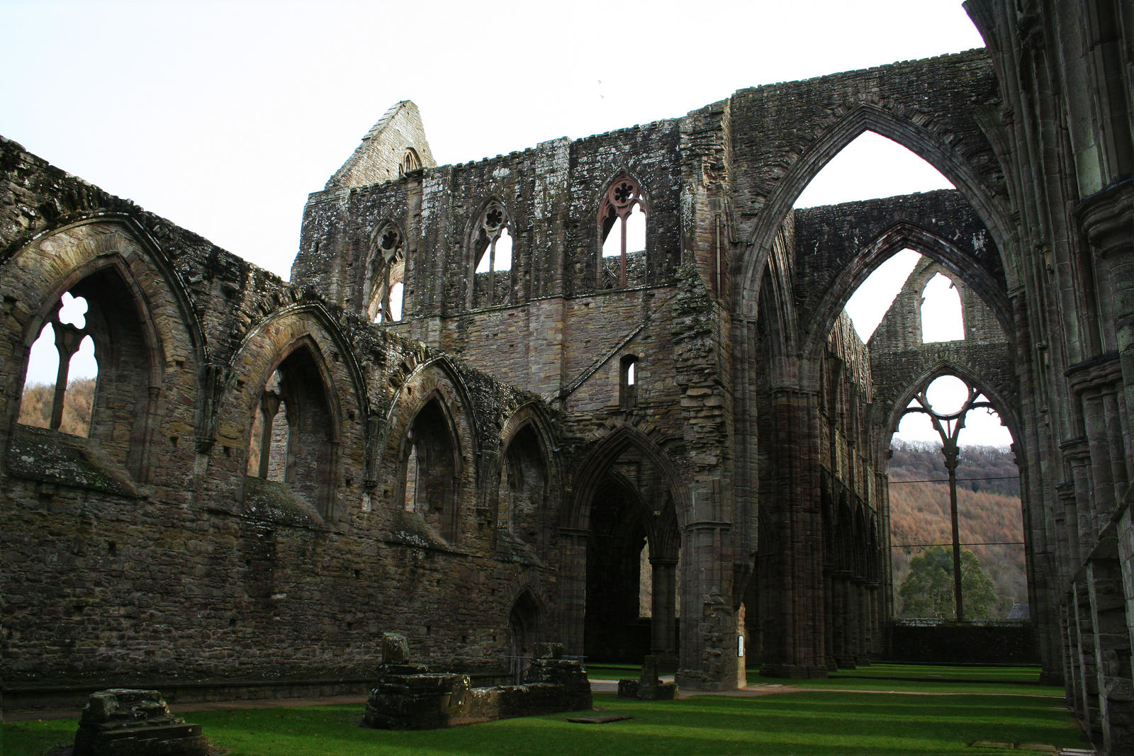 Tintern Abbey 17 - Stock by GothicBohemianStock