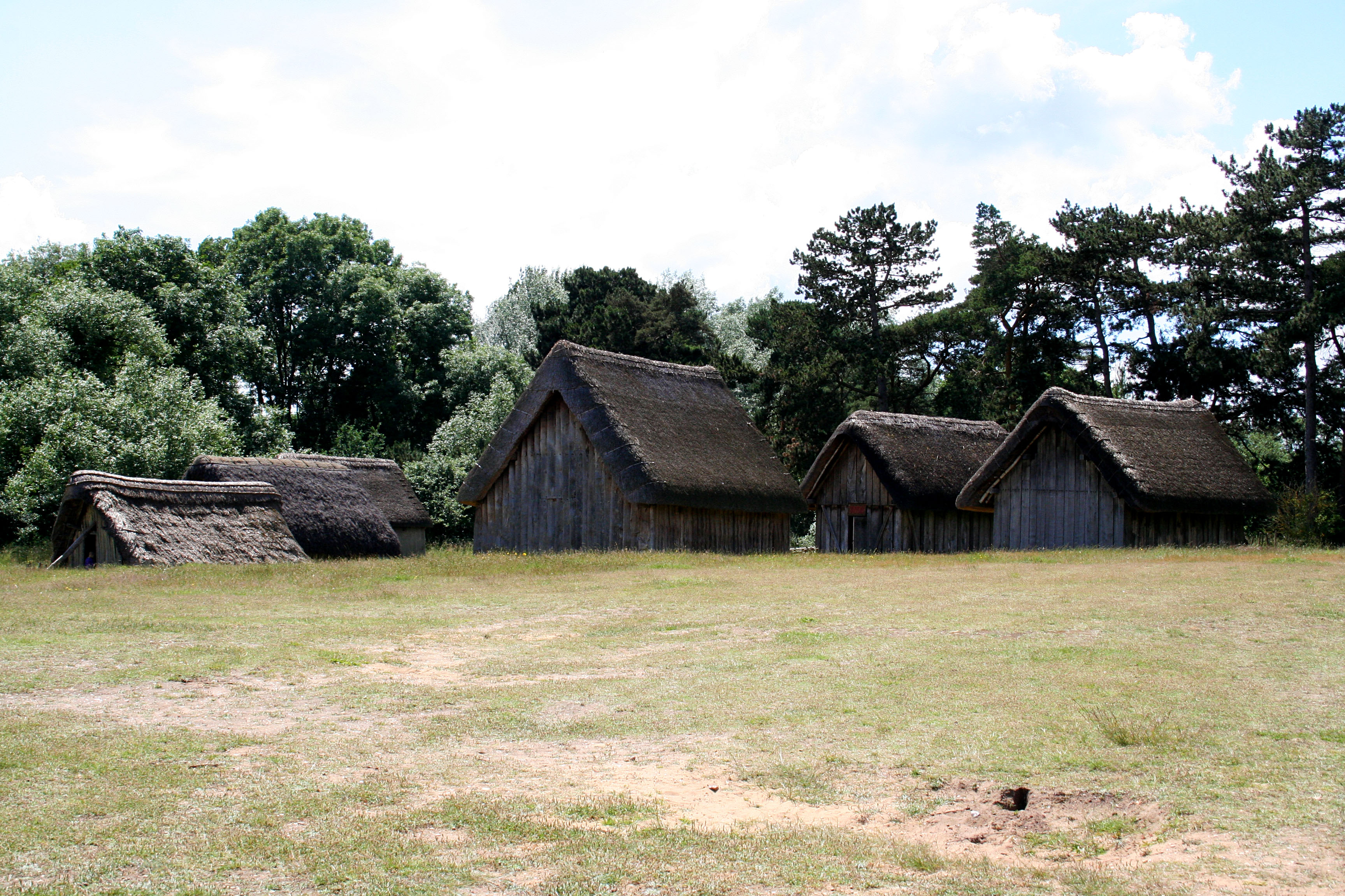 West Stow Anglo Saxon Village 10 by OghamMoon
