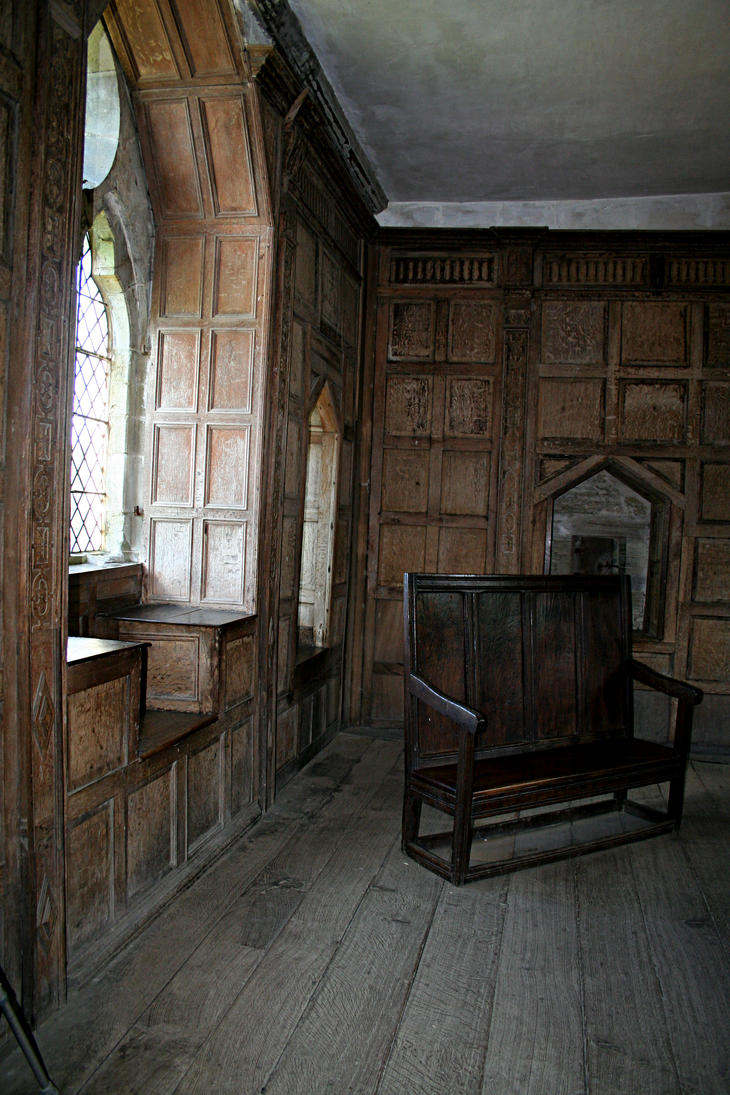 Stokesay Castle Interior 17 by GothicBohemianStock