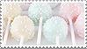 dessert stamp by kawaiistamps