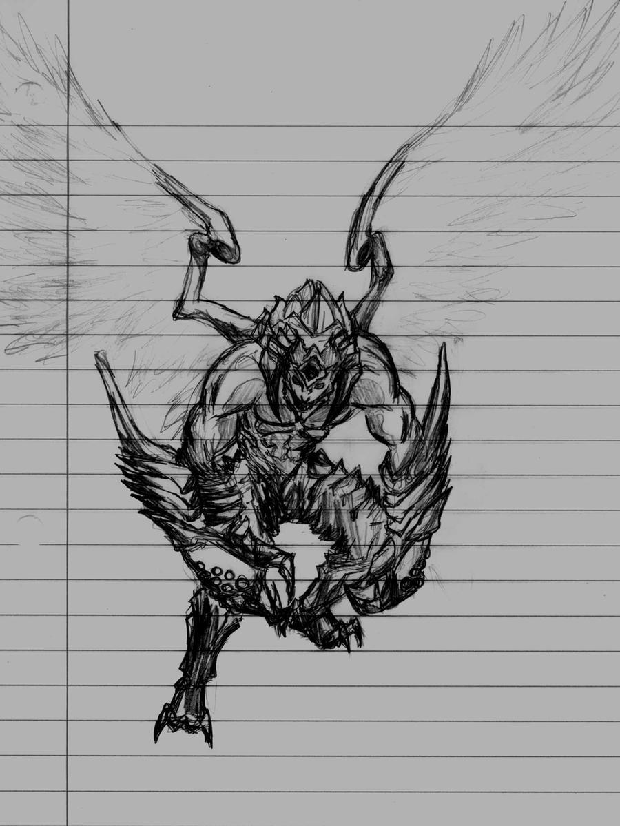 Devil Jin by xxAxNxGxExLxx on DeviantArt